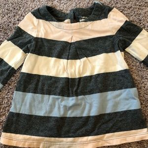GAP tunic length long sleeve shirt GUC